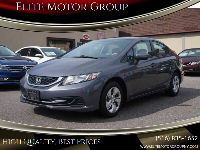 2014 Honda Civic for sale at Elite Motor Group in Farmingdale NY