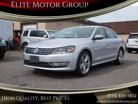 2012 Volkswagen Passat for sale at Elite Motor Group in Farmingdale NY