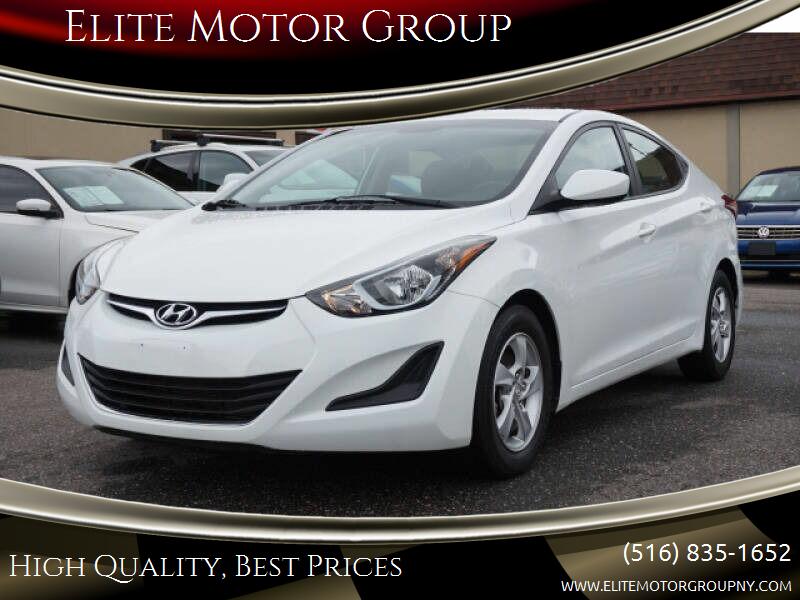 2014 Hyundai Elantra for sale at Elite Motor Group in Farmingdale NY