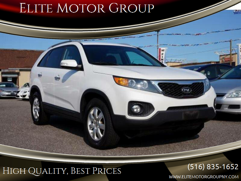 2012 Kia Sorento for sale at Elite Motor Group in Farmingdale NY