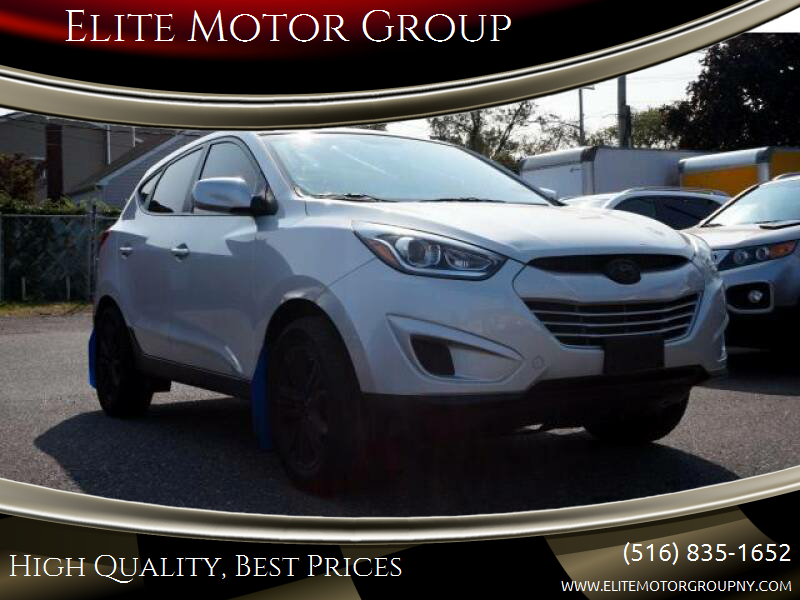 2015 Hyundai Tucson for sale at Elite Motor Group in Farmingdale NY