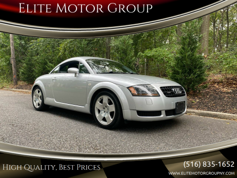 2003 Audi TT for sale at Elite Motor Group in Farmingdale NY