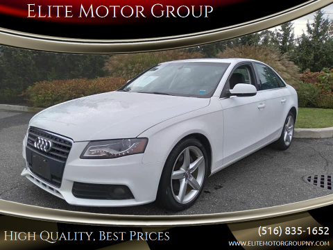 2011 Audi A4 for sale at Elite Motor Group in Farmingdale NY
