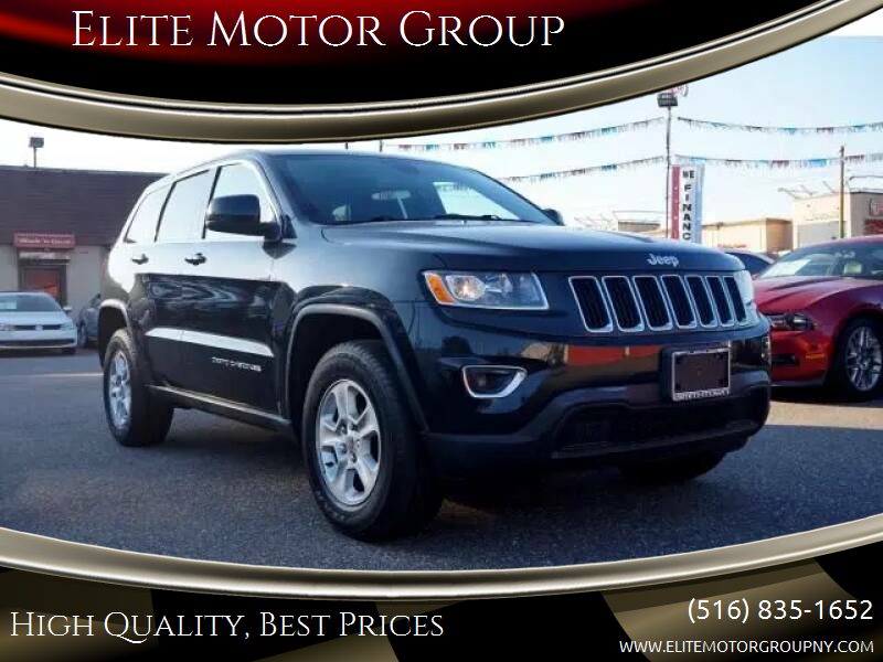 2016 Jeep Grand Cherokee for sale at Elite Motor Group in Farmingdale NY