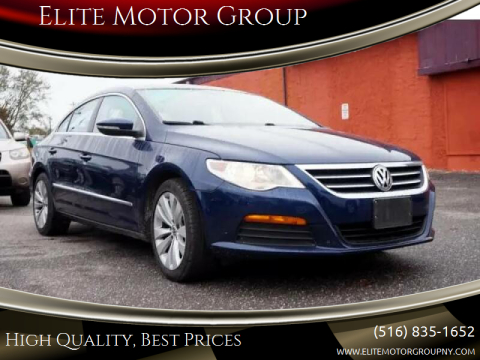 2011 Volkswagen CC for sale at Elite Motor Group in Farmingdale NY