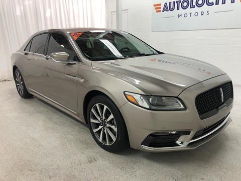 2018 Lincoln Continental for sale in Ogden, UT