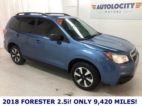 2018 Subaru Forester for sale in Ogden, UT