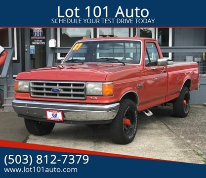 1987 Ford F-150 for sale in Tillamook, OR