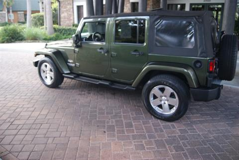 2008 Jeep Wrangler Unlimited for sale in Land O Lakes, FL