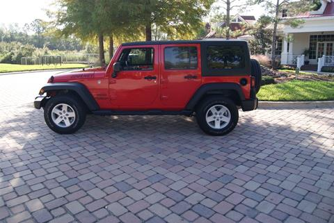 2017 Jeep Wrangler Unlimited for sale in Land O Lakes, FL