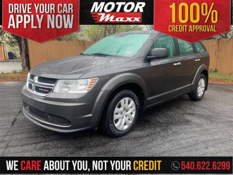 2015 Dodge Journey for sale at Motor Maxx in Front Royal VA