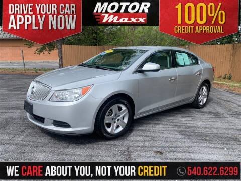 2010 Buick LaCrosse CX for sale at Motor Maxx in Front Royal VA