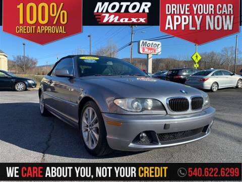 2006 BMW 3 Series 330Ci for sale at Motor Maxx in Front Royal VA
