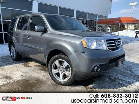 2013 Honda Pilot for sale in Middleton, WI