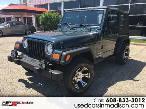 2005 Jeep Wrangler for sale in Middleton, WI
