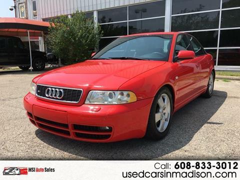 2001 Audi S4 for sale in Middleton, WI