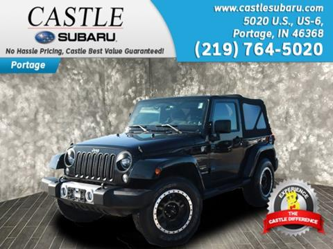 2014 Jeep Wrangler for sale in Portage, IN