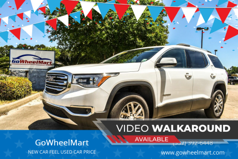 2019 GMC Acadia for sale at GoWheelMart in Leesville LA