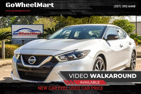 2018 Nissan Maxima for sale at GoWheelMart in Leesville LA