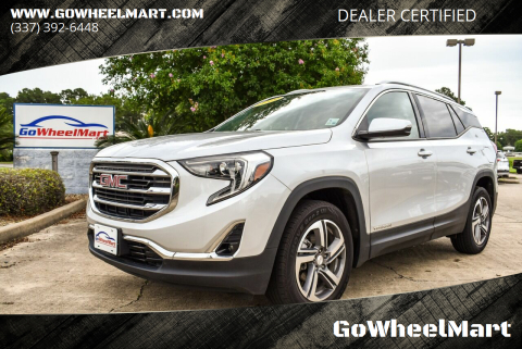 2019 GMC Terrain for sale at GoWheelMart in Leesville LA