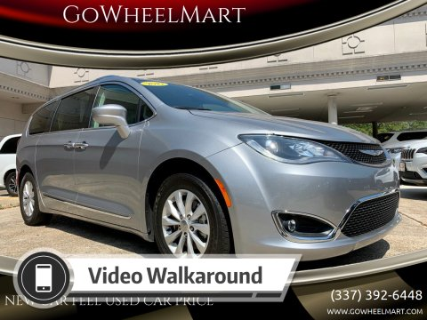 2019 Chrysler Pacifica for sale at GoWheelMart in Leesville LA