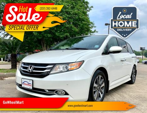 2014 Honda Odyssey for sale at GoWheelMart in Leesville LA