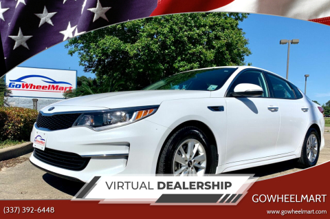 2018 Kia Optima for sale at GoWheelMart in Leesville LA