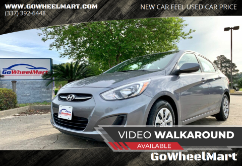 2017 Hyundai Accent for sale at GoWheelMart in Leesville LA