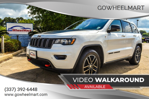 2018 Jeep Grand Cherokee for sale at GoWheelMart in Leesville LA