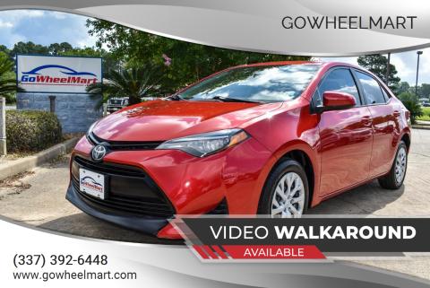2019 Toyota Corolla for sale at GoWheelMart in Leesville LA