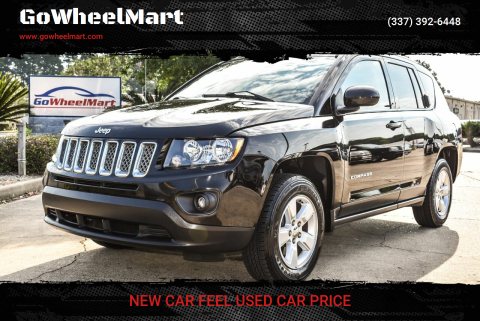 2017 Jeep Compass for sale at GoWheelMart in Leesville LA