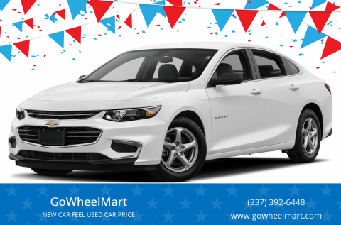 2018 Chevrolet Malibu for sale at GoWheelMart in Leesville LA