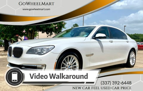 2014 BMW 7 Series for sale at GoWheelMart in Leesville LA