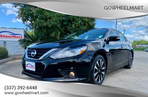 2018 Nissan Altima for sale at GoWheelMart in Leesville LA
