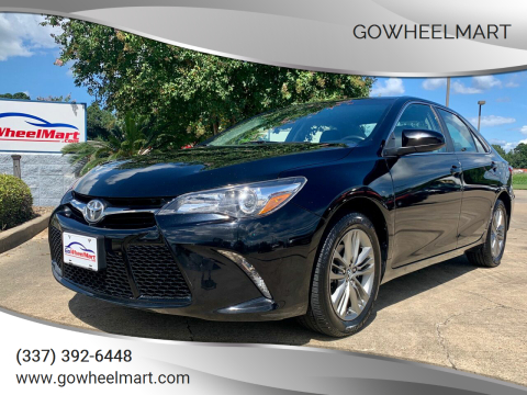 2017 Toyota Camry for sale at GoWheelMart in Leesville LA