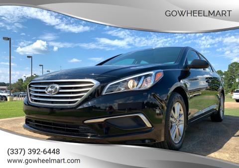 2017 Hyundai Sonata for sale at GoWheelMart in Leesville LA