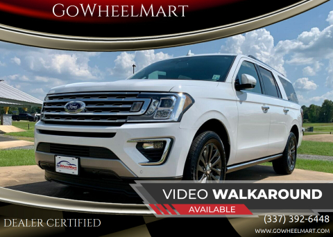 2020 Ford Expedition MAX for sale at GoWheelMart in Leesville LA