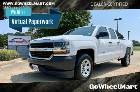 2017 Chevrolet Silverado 1500 for sale at GoWheelMart in Leesville LA