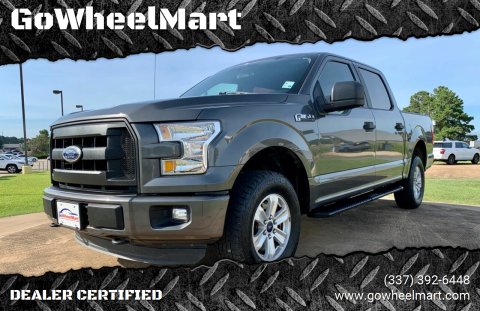 2016 Ford F-150 for sale at GoWheelMart in Leesville LA