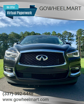 2020 Infiniti QX60 for sale at GoWheelMart in Leesville LA