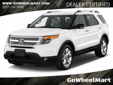 2014 Ford Explorer for sale at GoWheelMart in Leesville LA
