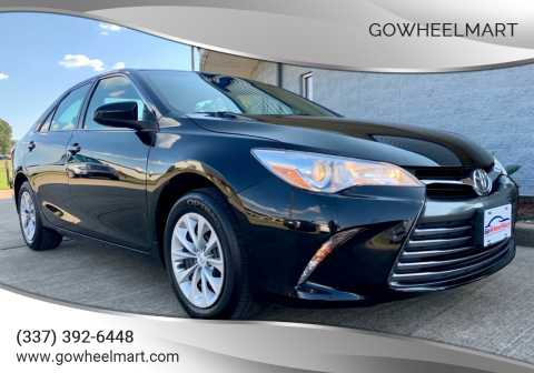 2015 Toyota Camry for sale at GoWheelMart in Leesville LA