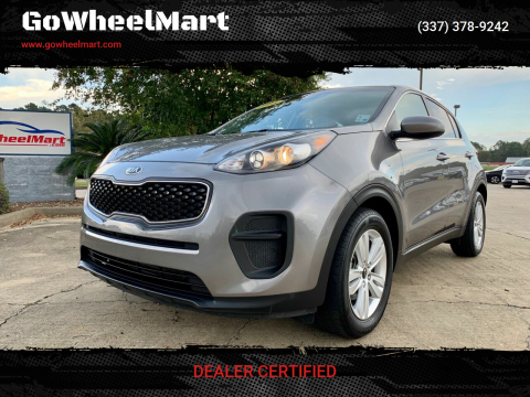 2018 Kia Sportage for sale at GoWheelMart in Leesville LA