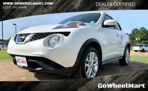2015 Nissan JUKE for sale at GoWheelMart in Leesville LA