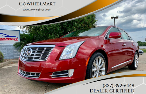 2014 Cadillac XTS for sale at GoWheelMart in Leesville LA