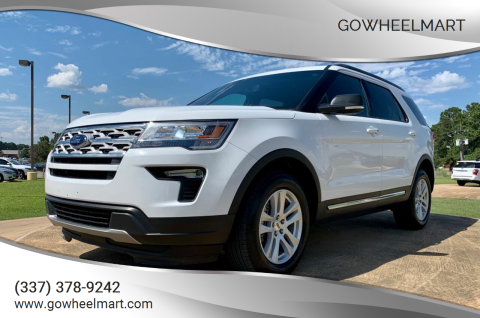 2019 Ford Explorer for sale at GoWheelMart in Leesville LA