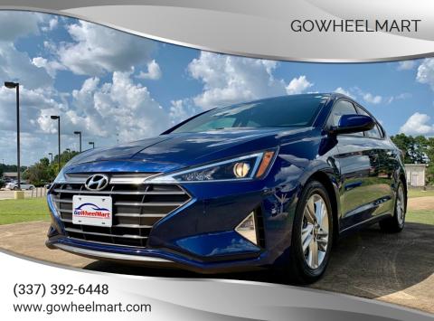 2019 Hyundai Elantra for sale at GoWheelMart in Leesville LA