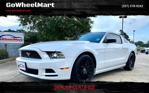 2014 Ford Mustang for sale at GoWheelMart in Leesville LA