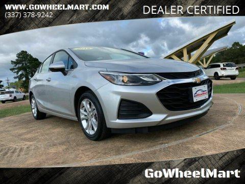 2019 Chevrolet Cruze for sale at GoWheelMart in Leesville LA