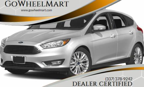2018 Ford Focus for sale at GoWheelMart in Leesville LA